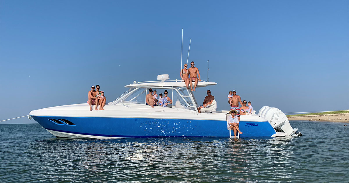 Holiday Family - Socially Distant Boating