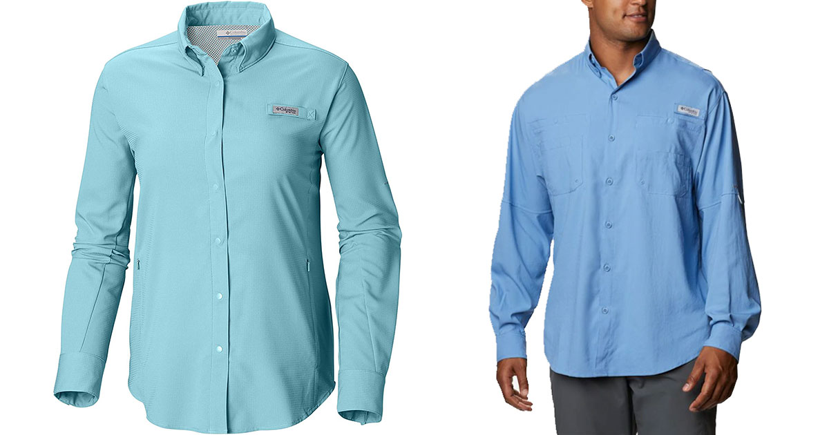 Teal and Blue Long Sleeve – fall boating